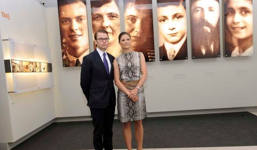 au Mémorial de l'Holocauste