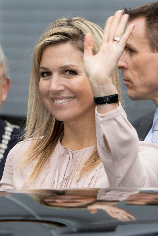 A Utrecht, une reine aux mille sourires