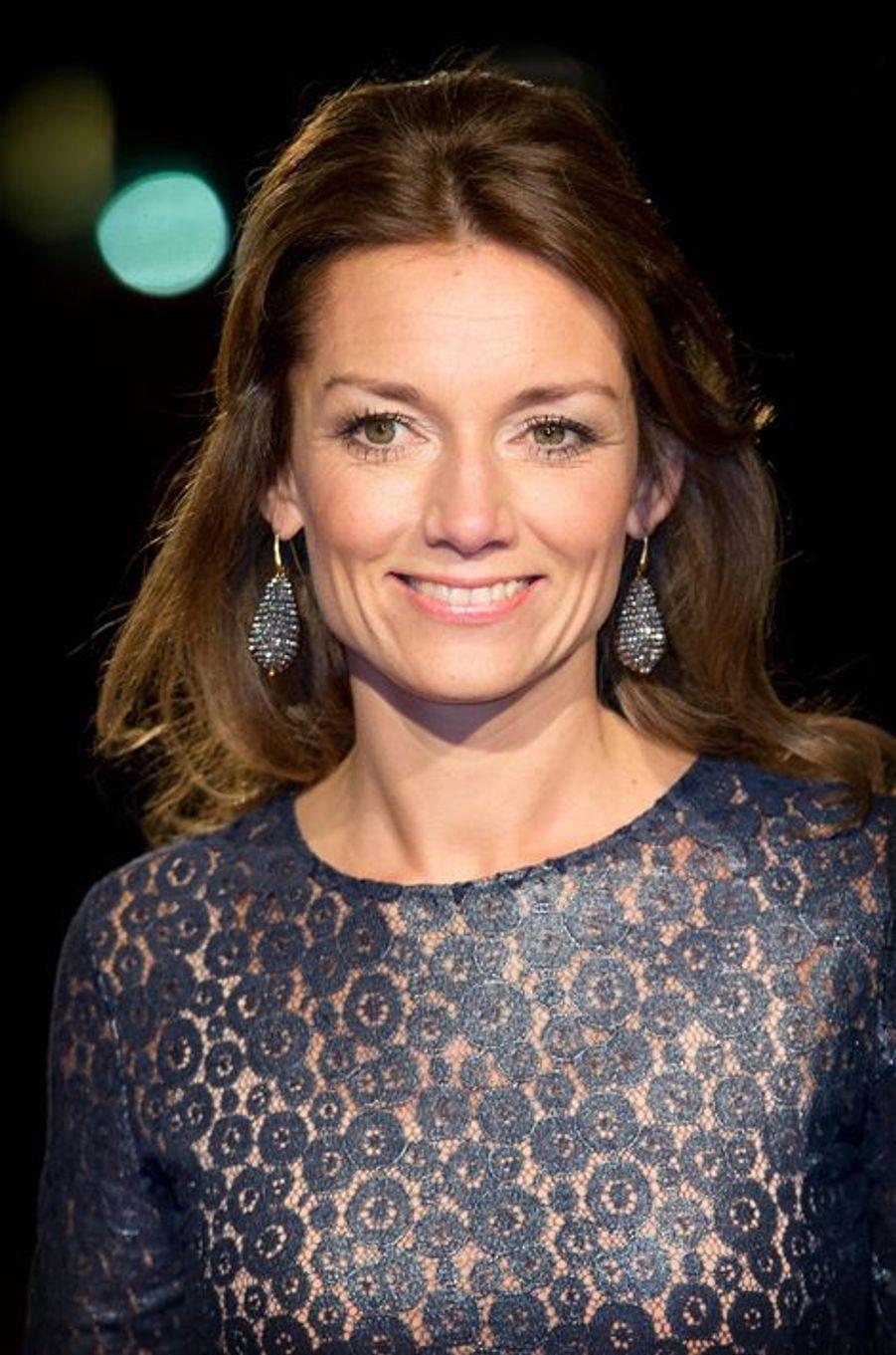 La princesse Aimée au théâtre Beatrix d'Utrecht, le 8 décembre 2014