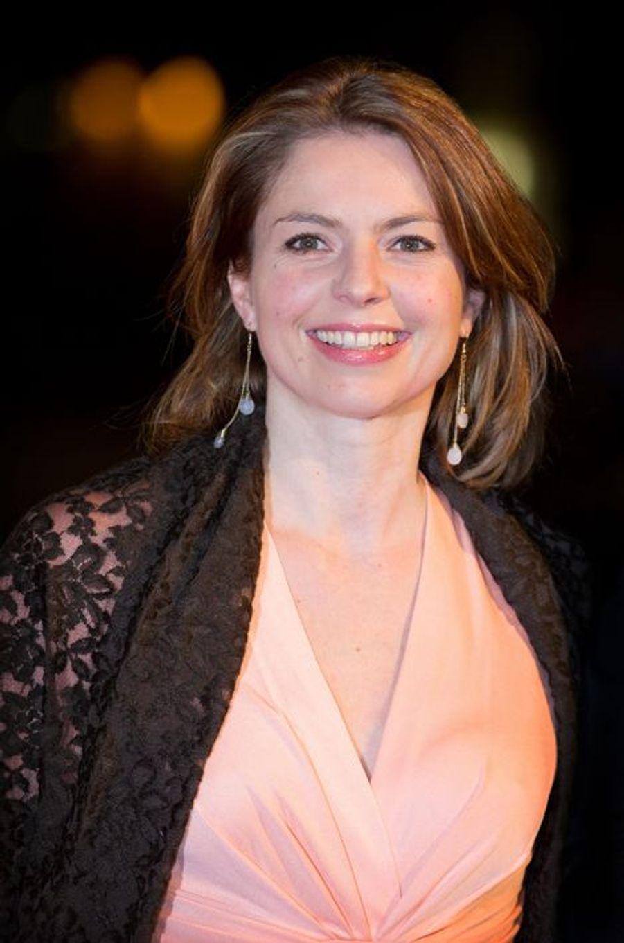La princesse Anne-Marie de Bourbon-Parme au théâtre Beatrix d'Utrecht, le 8 décembre 2014