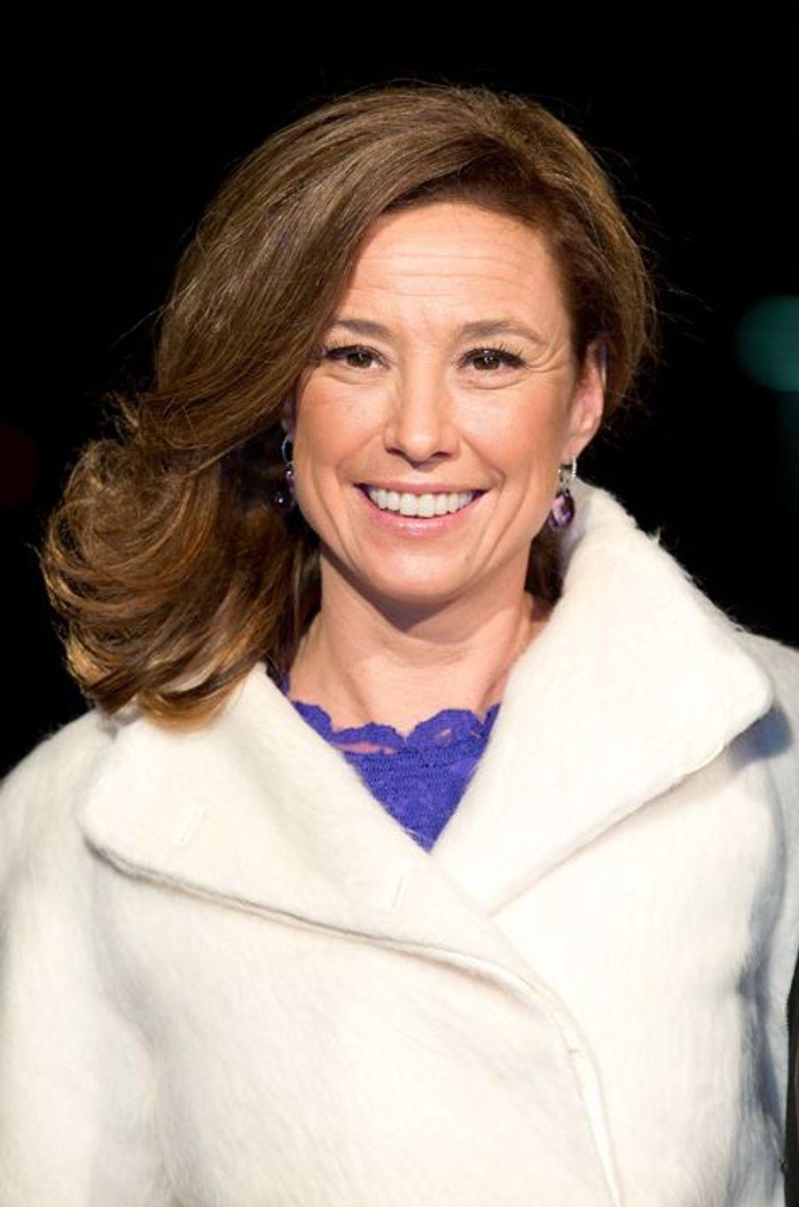 La princesse Marilene au théâtre Beatrix d'Utrecht, le 8 décembre 2014