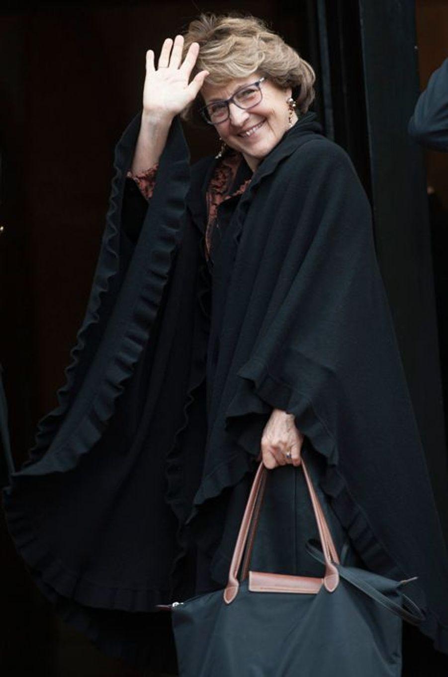 La princesse Margriet des Pays-Bas, à Amsterdam, le 13 janvier 2015
