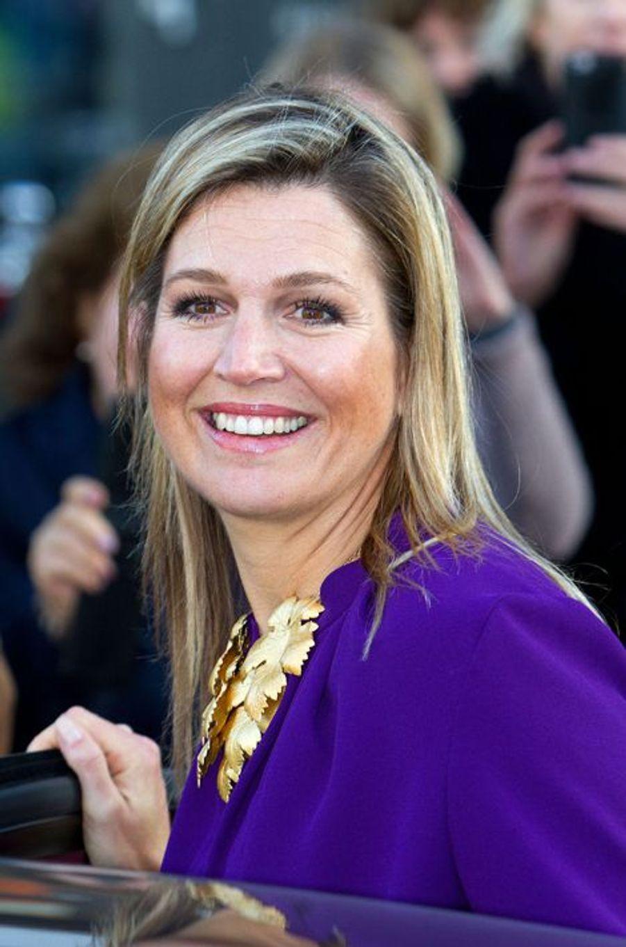La reine Maxima des Pays-Bas à Utrecht, le 20 novembre 2014