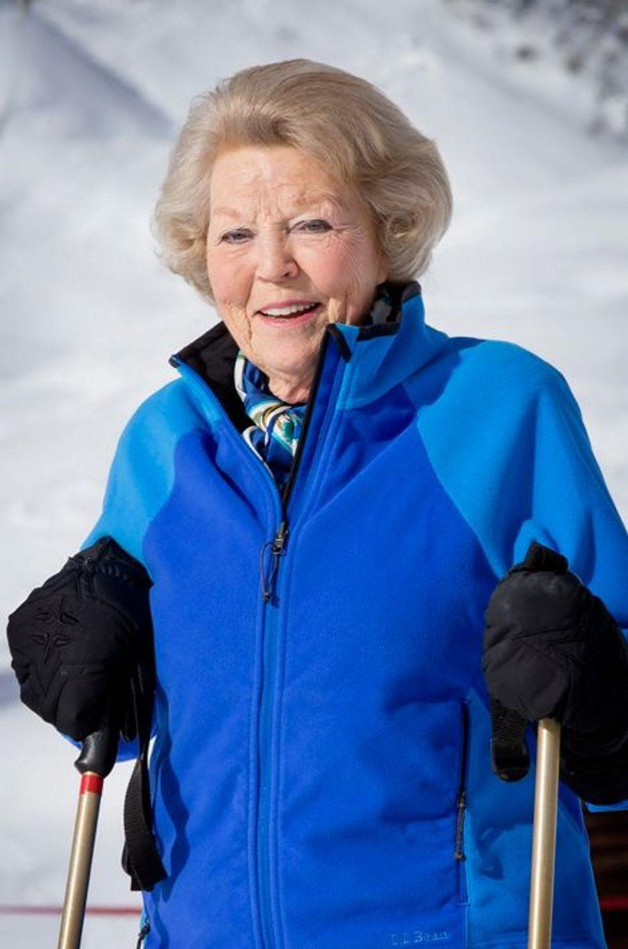 L'ex-reine Beatrix à Lech, le 23 février 2015