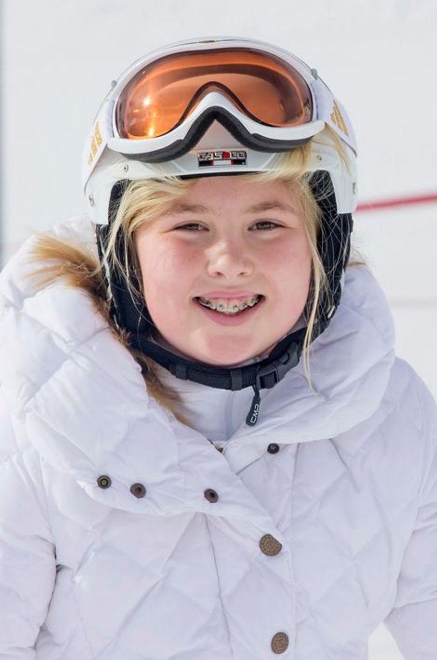 La princesse Catharina-Amalia à Lech, le 23 février 2015