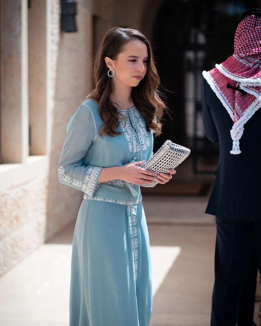 La princesse Salma de Jordanie à Amman, le 25 mai 2019