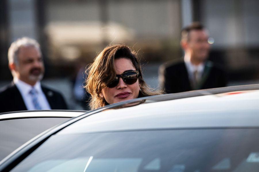 La reine Rania de Jordanie à Tokyo, le 25 novembre 2018
