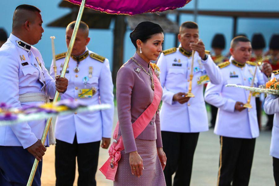 La reine Suthida de Thaïlande à Bangkok, le 22 octobre 2019