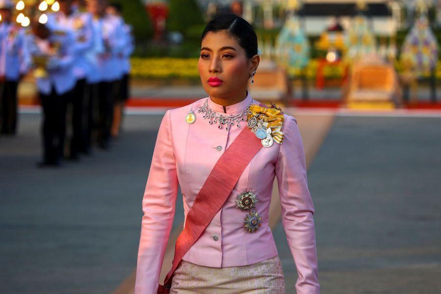 La princesse Sirivannavari Nariratana de Thaïlande à Bangkok, le 22 octobre 2019