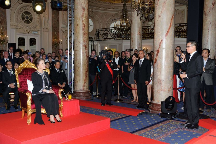 La princesse Ubolratana Rajakanya Sirivadhana Barnavadi de Thaïlande à Cannes, le 18 mai 2017