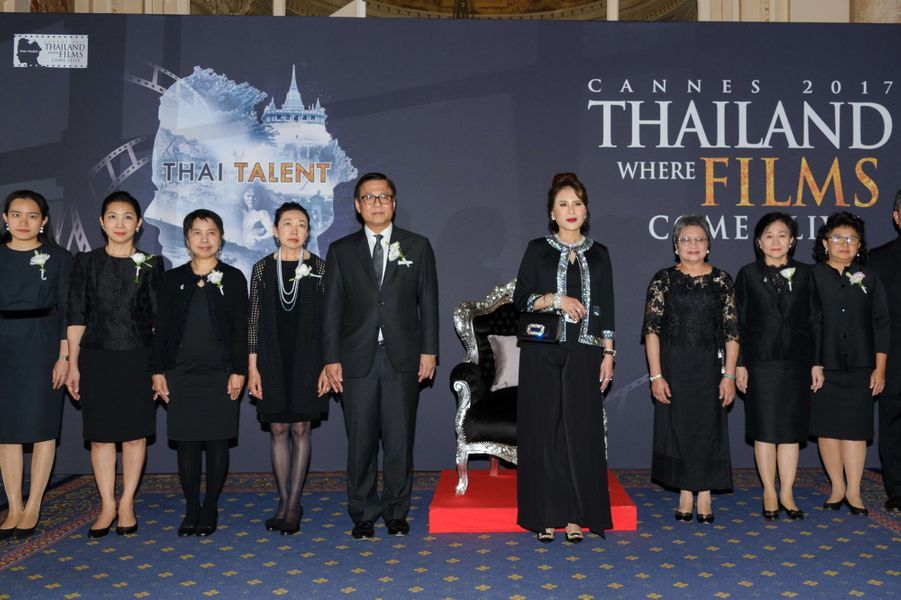 La princesse Ubolratana Rajakanya Sirivadhana Barnavadi de Thaïlande au Festival de Cannes, le 18 mai 2017