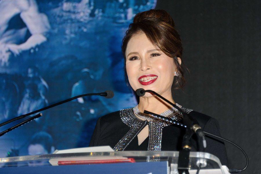 La princesse Ubolratana Rajakanya Sirivadhana Barnavadi de Thaïlande à la Thai Night 2017 à Cannes, le 18 mai 2017