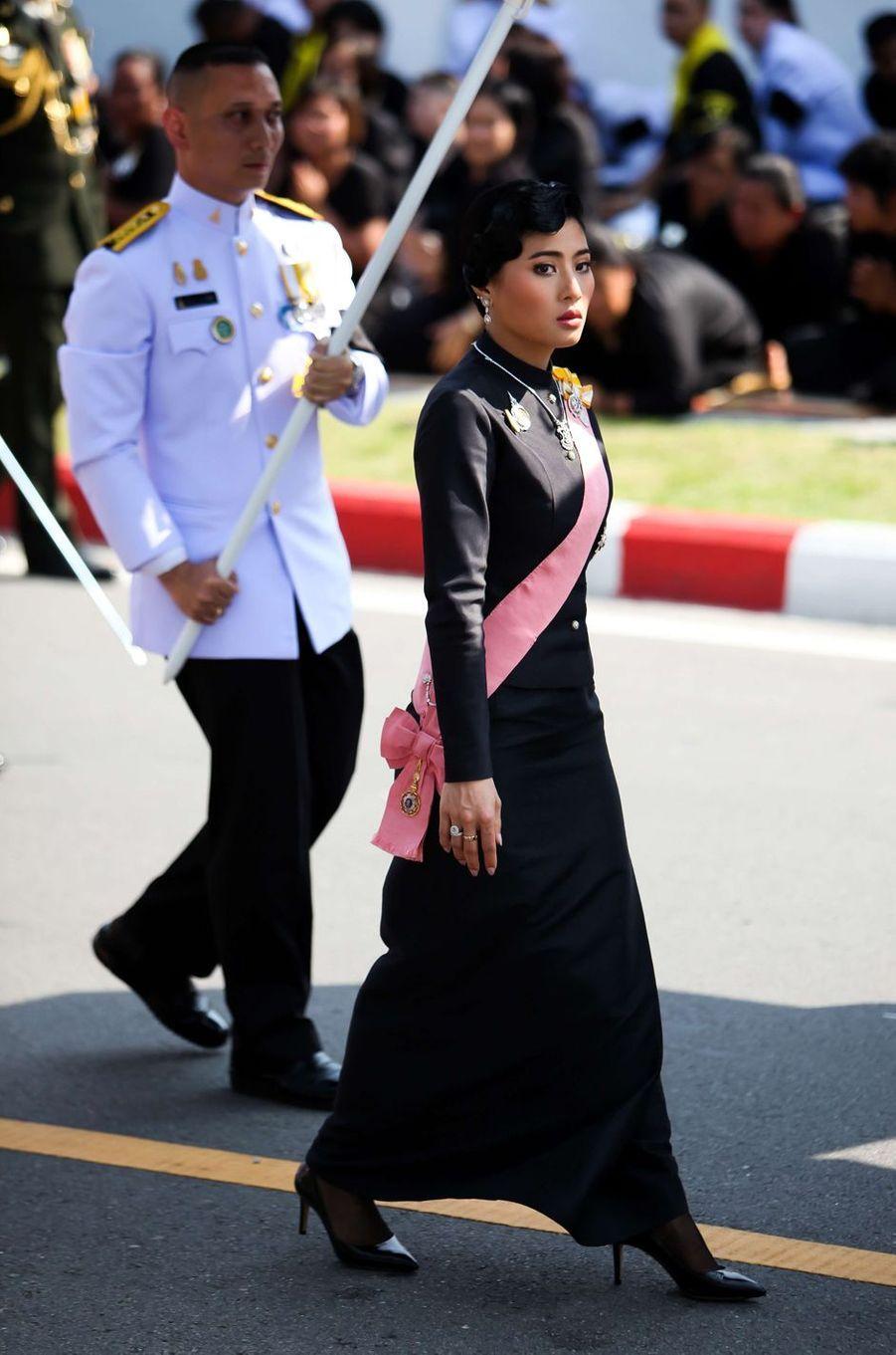 La princesse Sirivannavari Nariratana de Thaïlande à Bangkok, le 26 octobre 2017