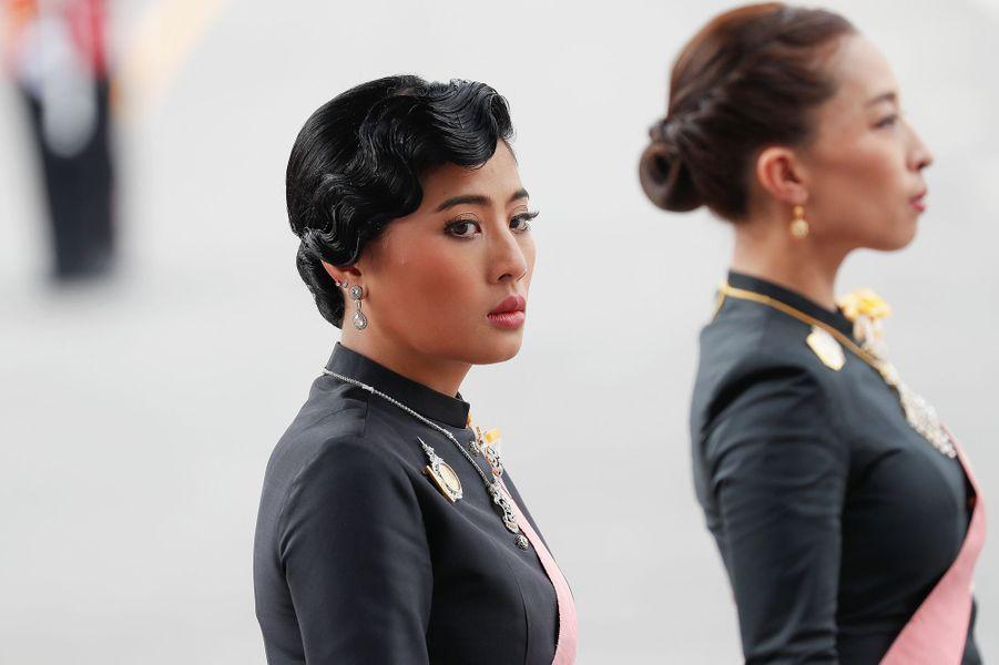 La princesse Sirivannavari Nariratana aux funérailles du roi Bhumibol de Thaïlande à Bangkok, le 26 octobre 2017
