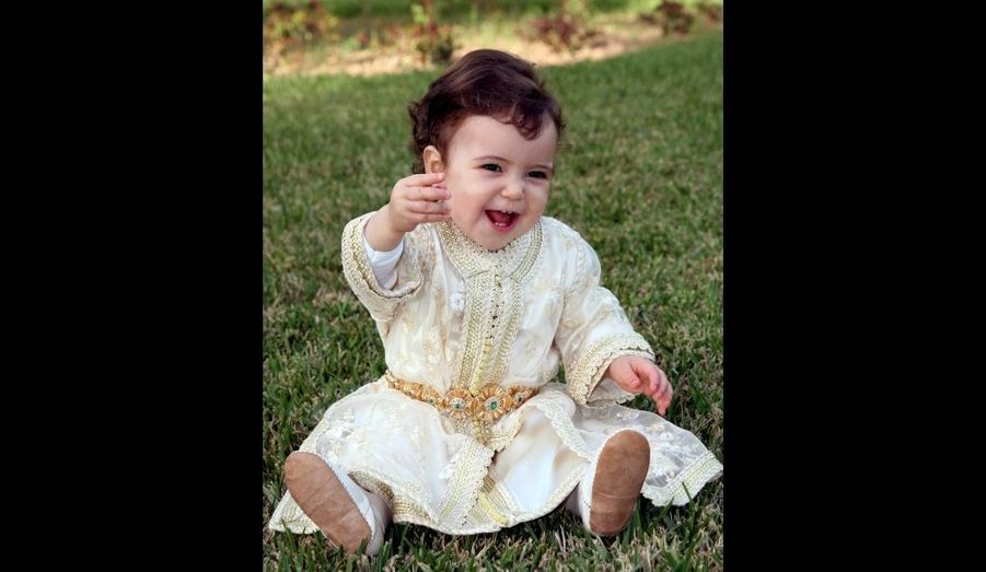 Lalla Khadija à un an