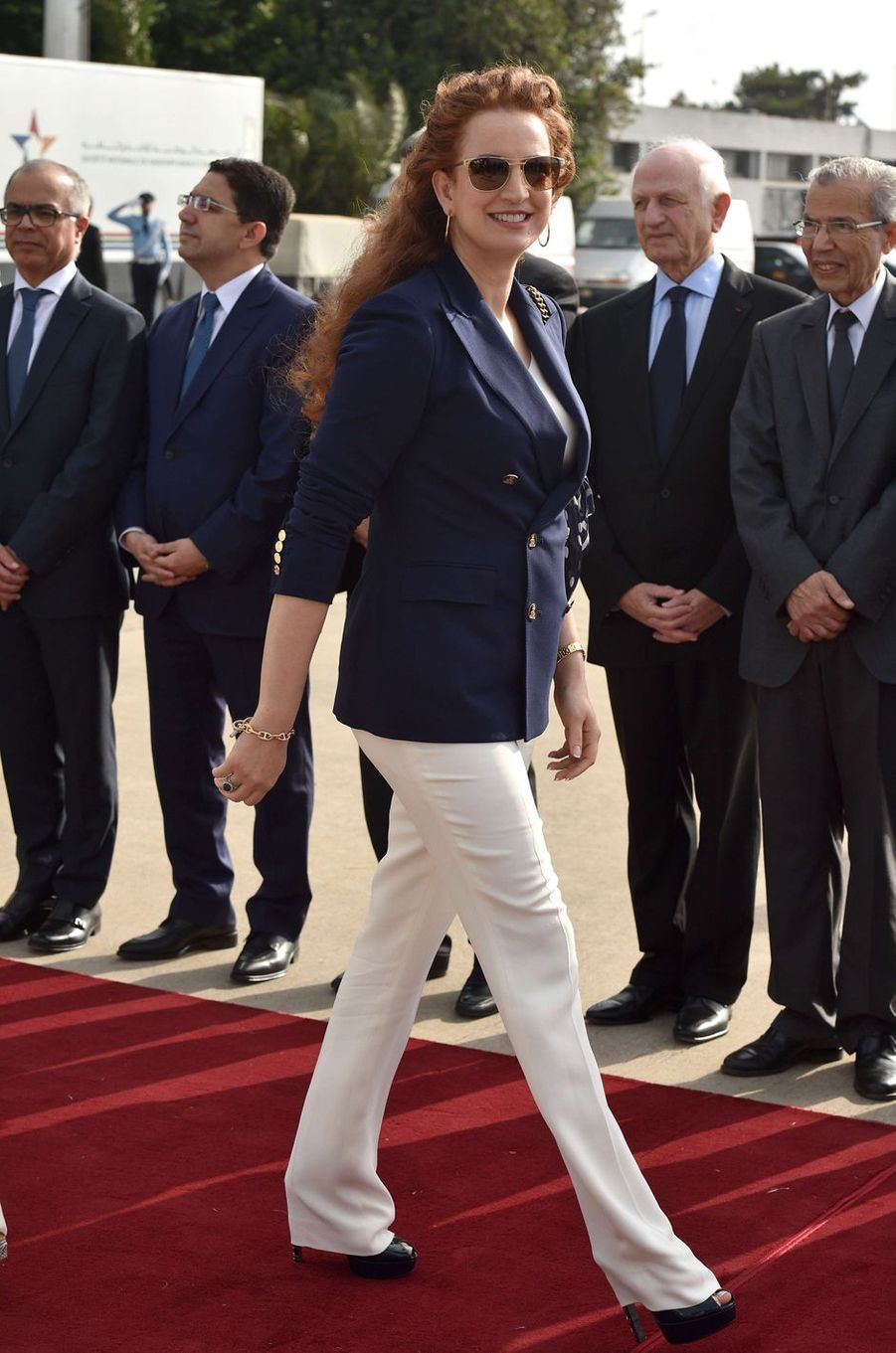 La princesse Lalla Salma du Maroc à Rabat, le 14 juin 2017