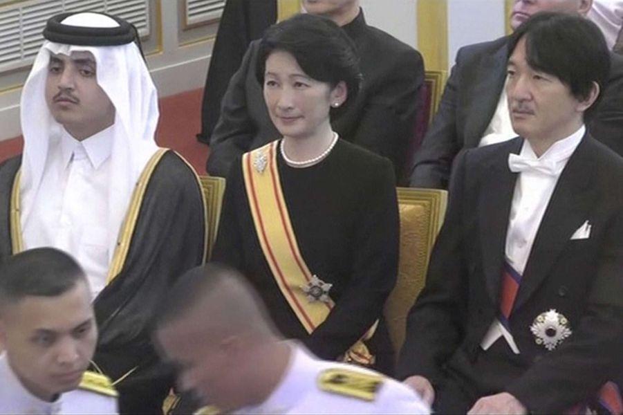 La princesse Kiko et le prince Akshino du Japon à Bangkok, le 26 octobre 2017