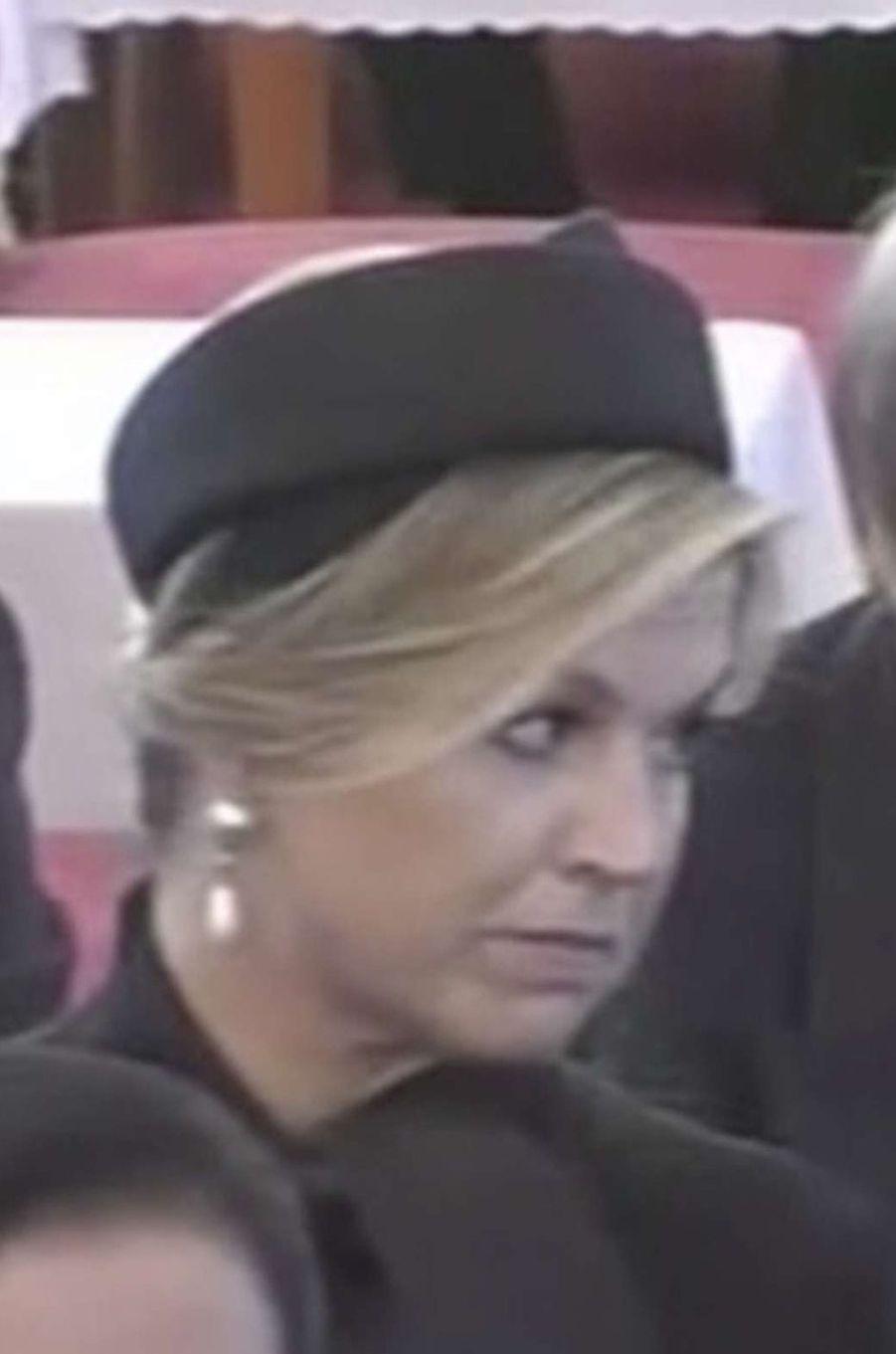 La reine Maxima des Pays-Bas à Bangkok, le 26 octobre 2017