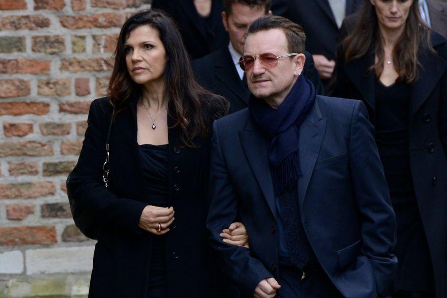 Bono et Ali Hewson
