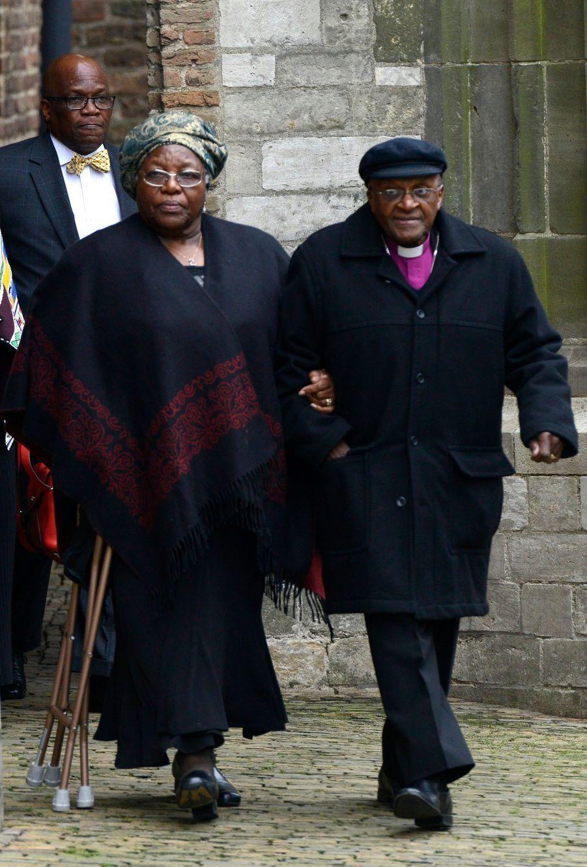Desmond Tutu et son épouse Nomalizo Leah Shenxane