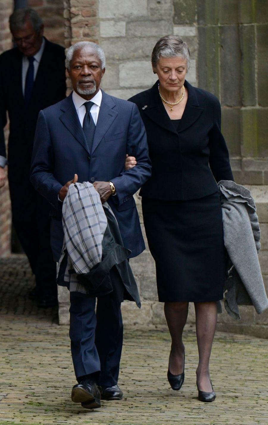Kofi Annan et son épouse Nane Lagergren
