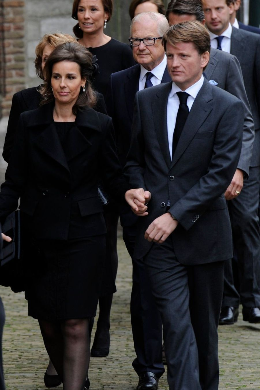 Le Prince Pieter-Christiaan et la princesse Anita