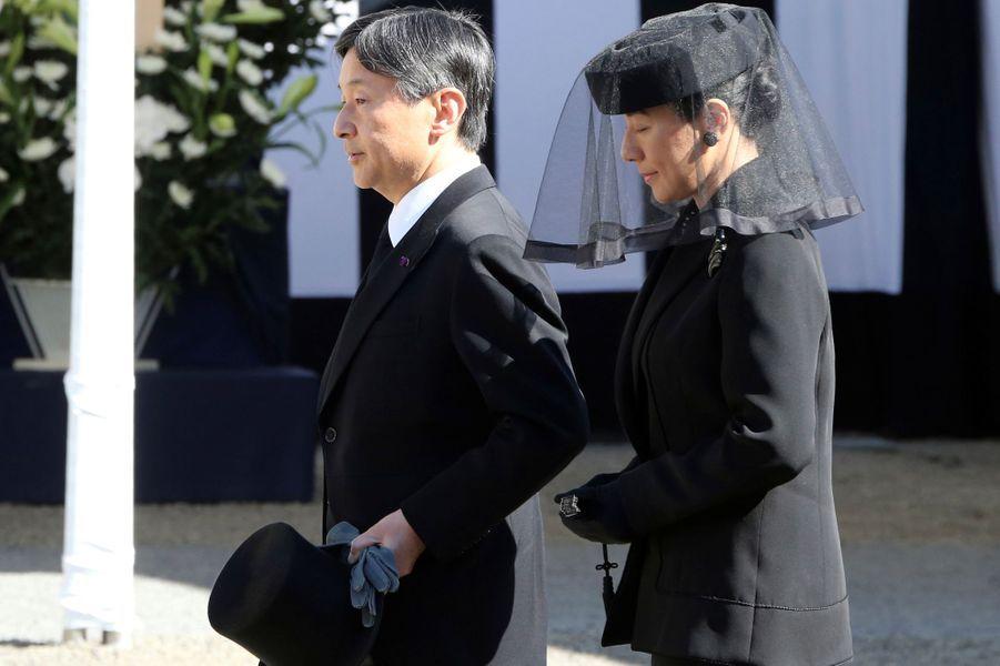 La princesse Masako et le prince Naruhito du Japon à Tokyo, le 4 novembre 2016