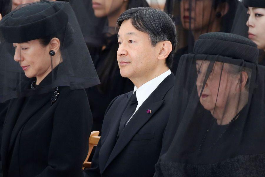 Les princesses Yuriko et Masako et le prince Naruhito du Japon à Tokyo, le 4 novembre 2016