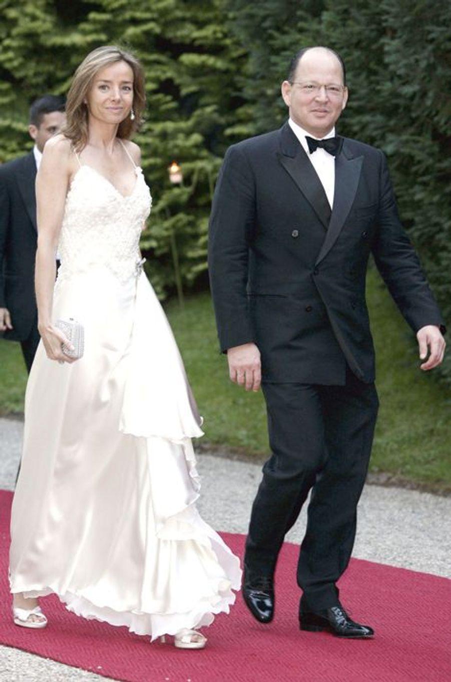 Le prince Kardam de Bulgarie et son épouse Miriam, le 1er juillet 2006
