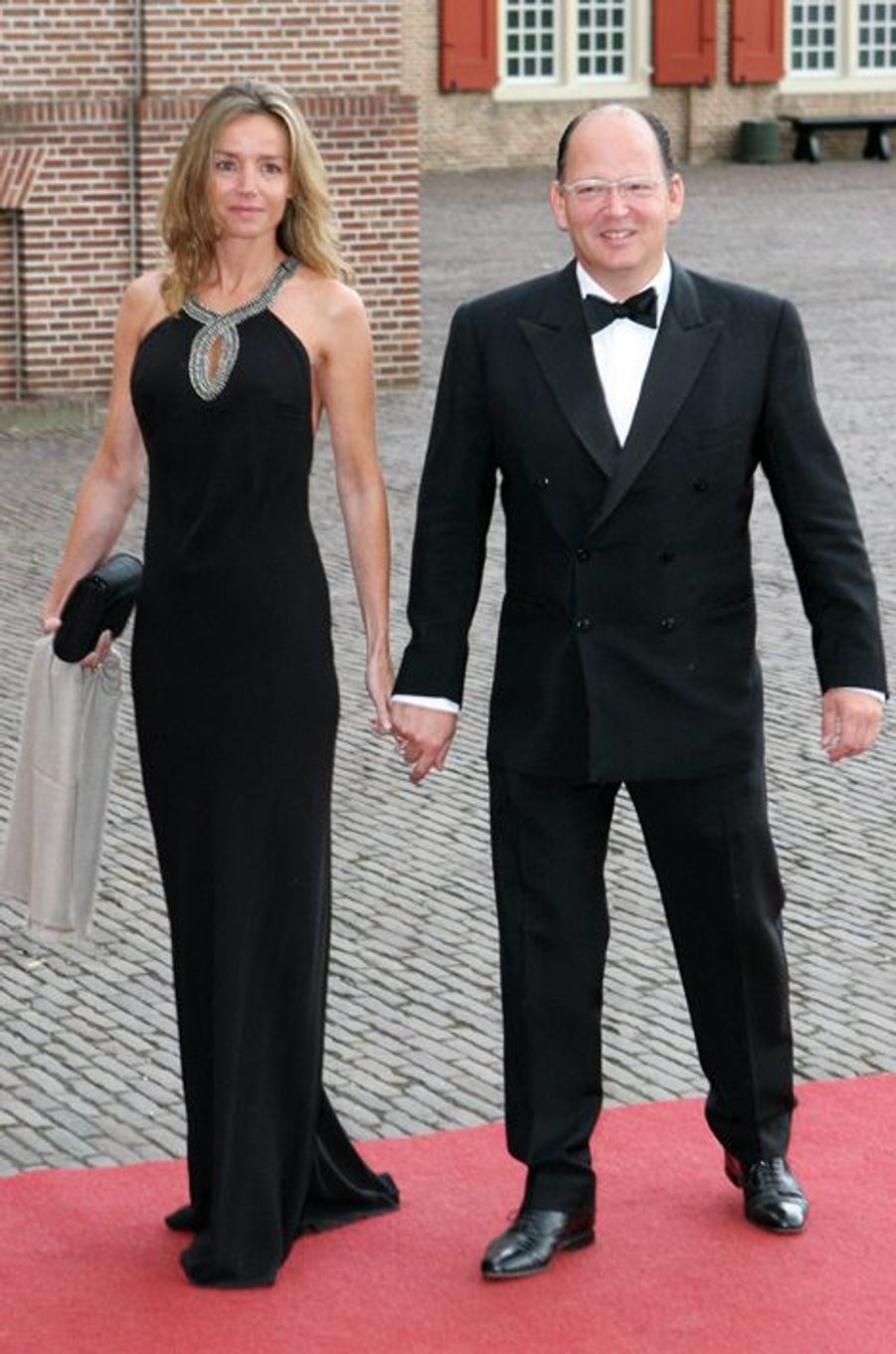 Le prince Kardam de Bulgarie et son épouse Miriam, le 1er juillet 2007