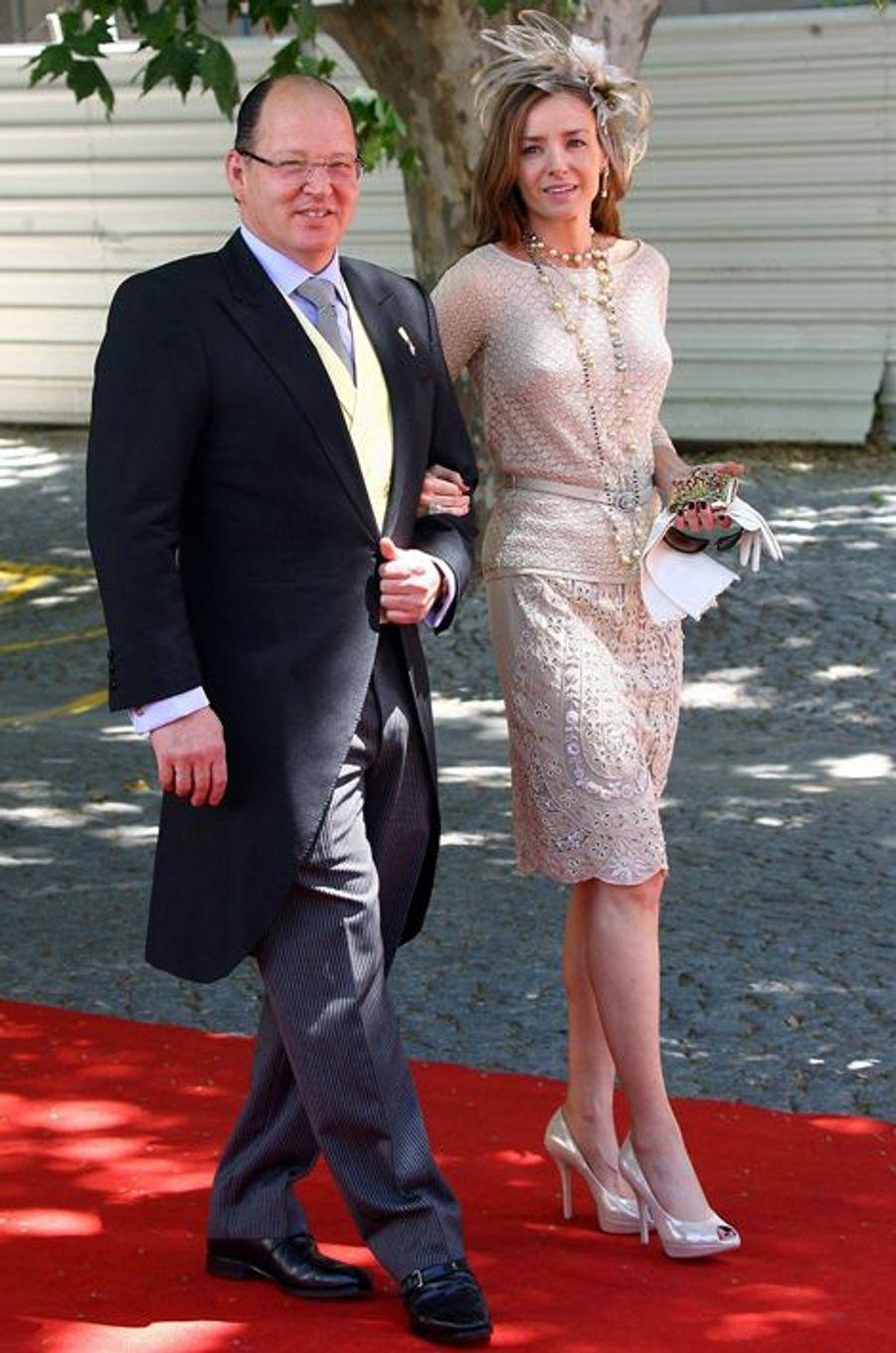 Le prince Kardam de Bulgarie et son épouse Miriam, le 20 juin 2008