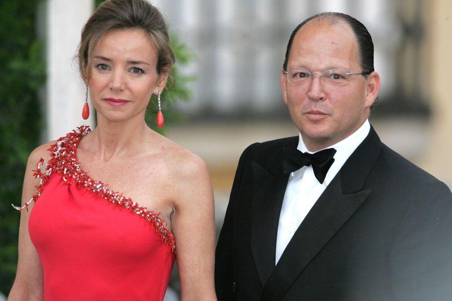 Le prince Kardam de Bulgarie et son épouse Miriam, le 25 mai 2004