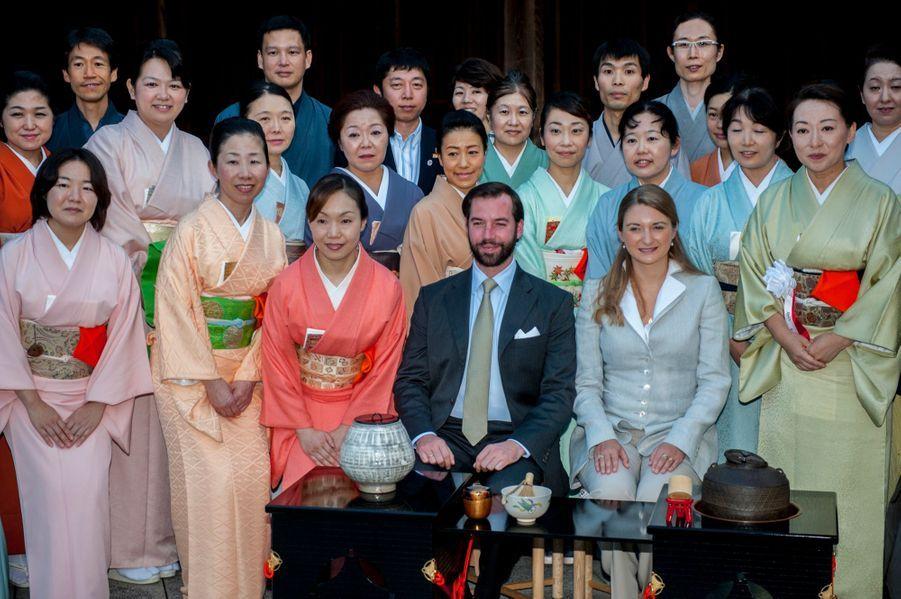 Guillaume et Stéphanie en mission en Asie