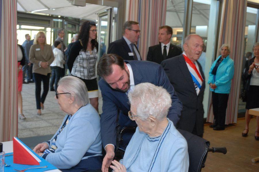 Stéphanie et Guillaume en visite à Remich, le 26 octobre 2014.