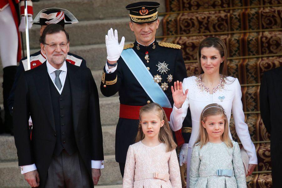 Avec Mariano Rajoy, président du gouvernement espagnol