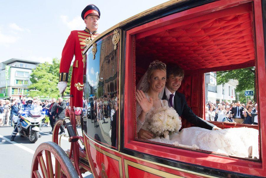 Le Mariage Du Prince Ernst August De Hanovre Et Ekaterina Malysheva, Le Samedi 8 Juillet 2017 À Hanovre 6