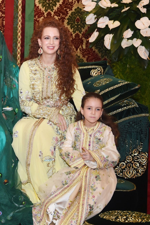 Lalla Salma et sa fille Lalla Khadija