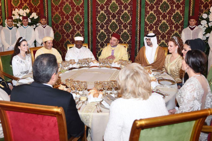 Le grand dîner offert par le roi du Maroc