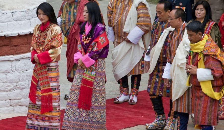 Les habitants du Bhoutan ont pu bénéficier de trois jours de congé pour l'événement.