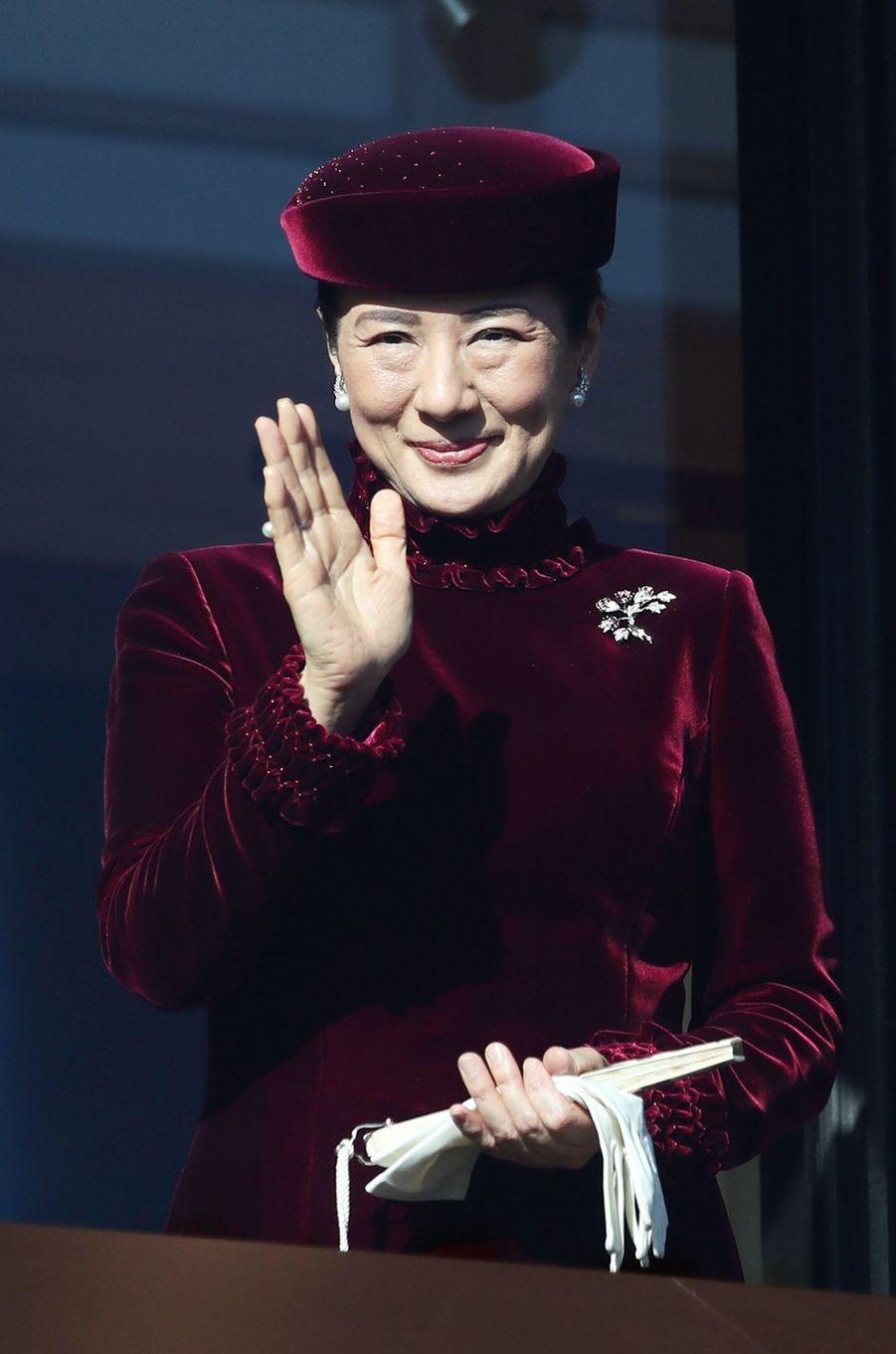 La princesse Masako du Japon à Tokyo, le 23 décembre 2017