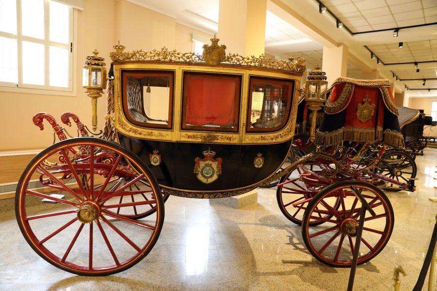 Le musée des Carrosses royaux du Caire, le 1er novembre 2020