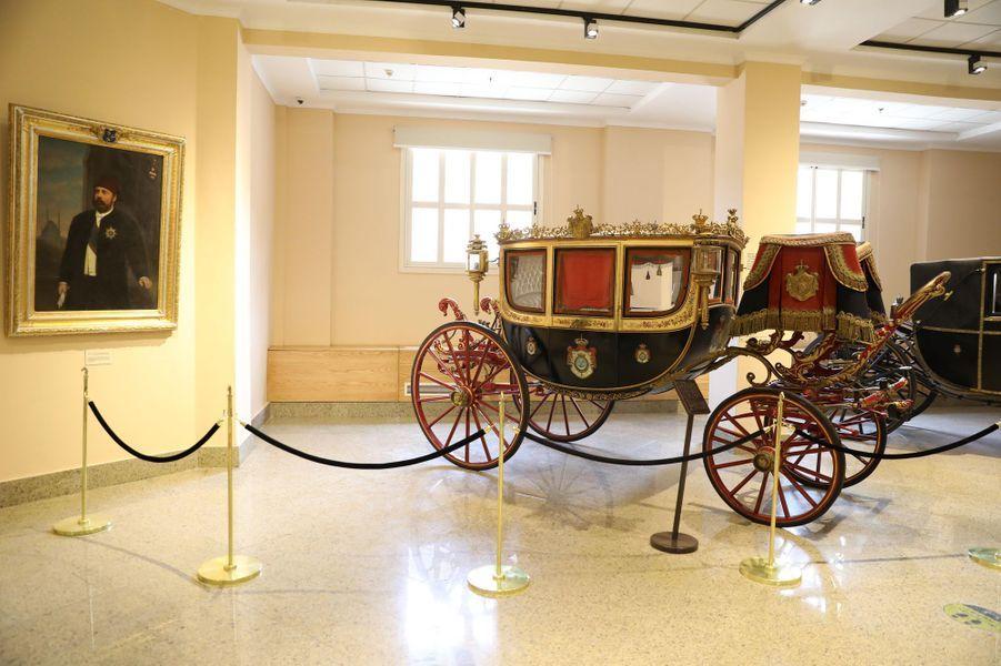 Au musée des Carrosses royaux du Caire, le 1er novembre 2020