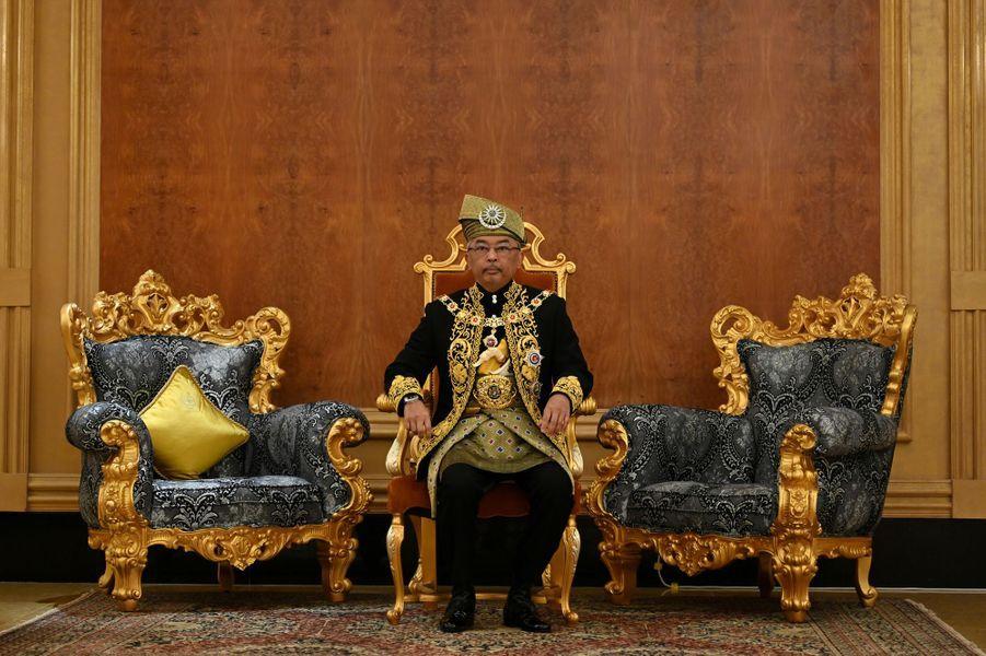 Le nouveau roi de Malaisie à Kuala Lumpur, le 30 juillet 2019