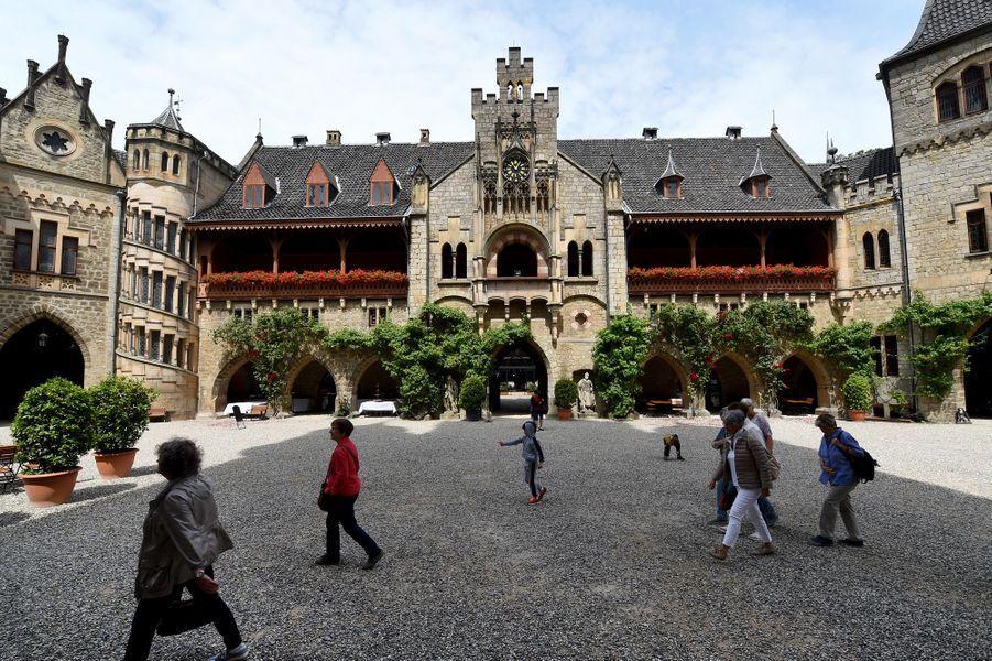 Le château de Marienburg en Allemagne, le 27 juin 2017