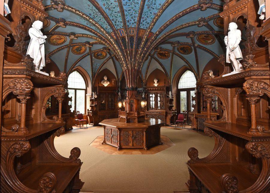 La chapelle du château de Marienburg en Allemagne, le 27 juin 2017