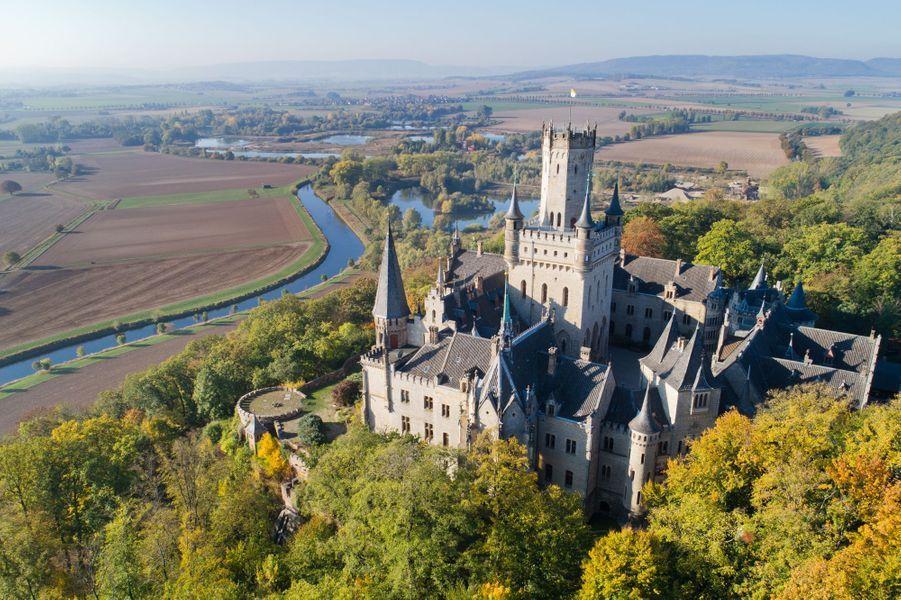 Le château de Marienburg en Basse-Saxe, le 11 octobre 2018