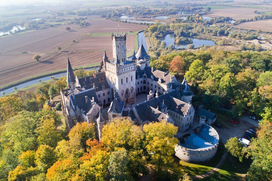 Le château de Marienburg en Allemagne, fief des Hanovre, le 11 octobre 2018