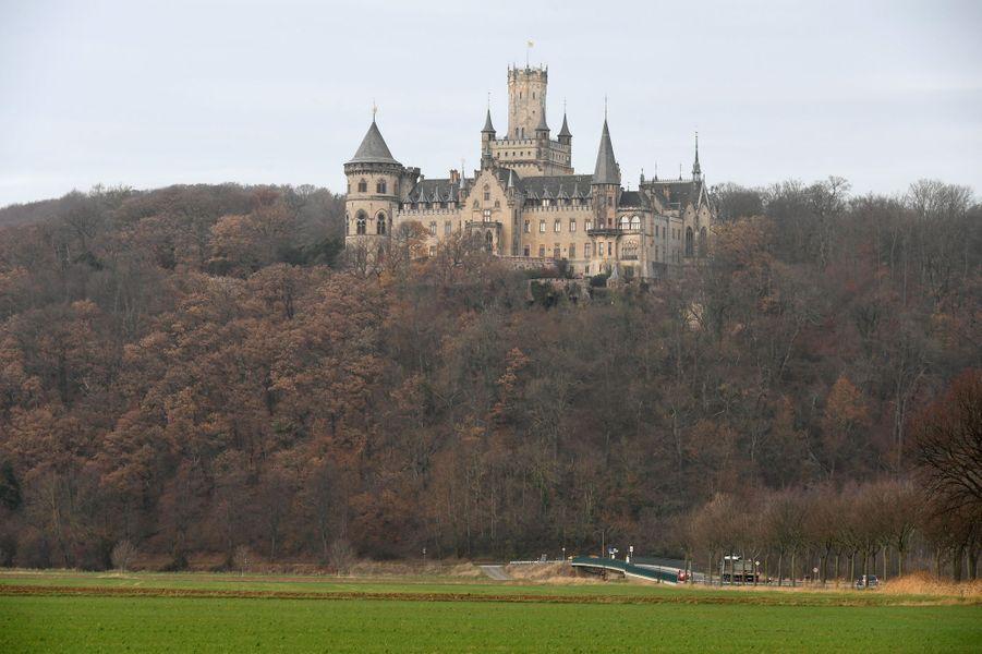 Le château de Marienburg en Allemagne, le 29 novembre 2018