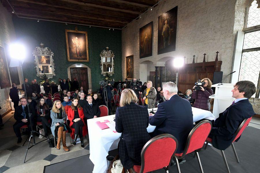Le prince Ernst August de Hanovre junior annonce vendre le château de Marienburg, le 29 novembre 2018