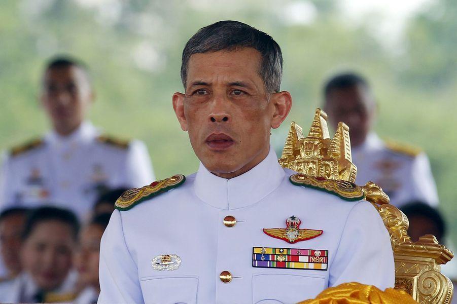 Le prince héritier de Thaïlande Maha Vajiralongkorn, à Bangkok le 13 mai 2015.